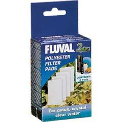 Fluval 2 Polyester Pads 4 Pack