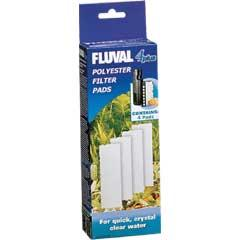 Fluval 4 Polyester Pads 4 Pack