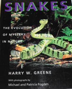 Snakes-The Evolution of Mystery in Nature