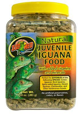 Zoo Med Natural Juvenile Iguana Food 20 oz