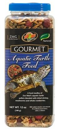 Zoo Med Gourmet Aquatic Turtle Food 12oz