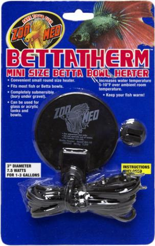 Zoo Med BettaTherm Betta Bowl Heater