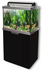 Fluval Studio 600 Aquarium Set Black