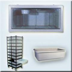 Vision Cages, Racks & Tubs