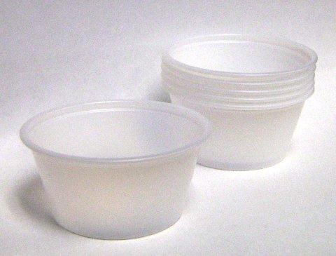 Disposable 4 Ounce Portion Cups Clear